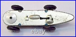 1947 CAPTAIN MARVEL Blue #4 Fawcett Comics tin litho windup race car