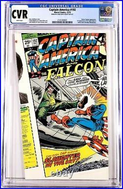 1975 Marvel Comics Captain America #192 Cgc Error Manufactured Cover Miscut 1of1