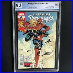 AVENGING SPIDER-MAN #9 9.2 PGX 1ST CAROL DANVERS as CAPTAIN MARVEL