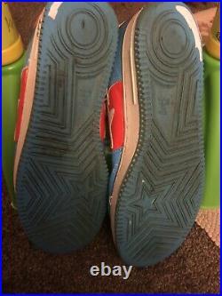 A BATHING APE MARVEL COMICS BAPESTA Captain America sneakers BLUE US 12