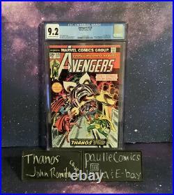 Avengers #125 CGC 9.2 Captain Marvel Comic John Rosita Thanks Cover Thor Vision