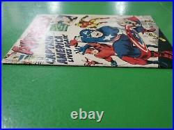 Avengers #4 1st Silver Age Captain America 1964 Marvel VG