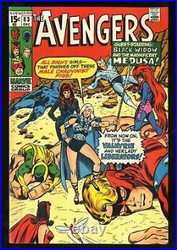Avengers #83 VG+ 4.5 1st app Valkyrie Marvel Comics Thor Captain America