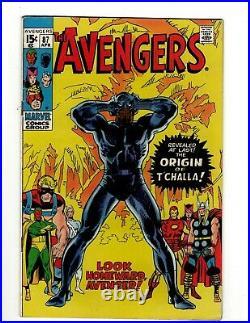 Avengers # 87 VF/NM Marvel Comic Book Hulk Thor Captain America Iron Man OF2