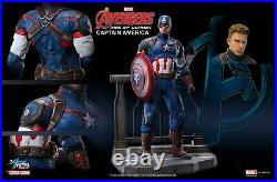 Avengers Captain America Marvel Figur 1/9 Standfigur Dragon 38149