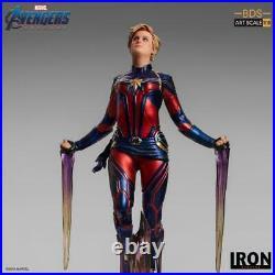 Avengers Endgame Battle Diorama Series Captain Marvel 1/10 Art Scale Statue