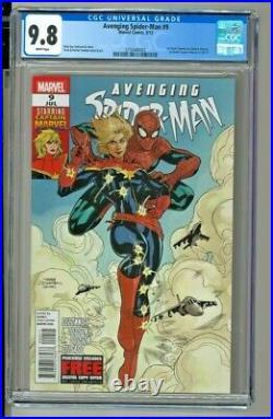 Avenging Spider-Man #9 CGC 9.8 1st Carol Danvers As Captain Marvel