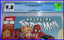 Avenging Spider-Man #9 CGC Comic Grade 9.8 1st Carol Danvers Captain Marvel