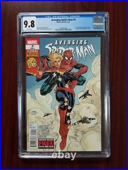 Avenging Spider-Man #9 (Marvel 2012) CGC 9.8 1st Carol Danvers as Captain Marvel