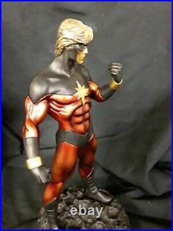 Bowen Designs Captain Marvel Faux Bronze Full Size Statue 1970s Version #/ 275