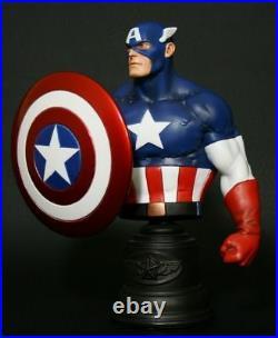 Bowen Designs Classic Captain America Bust Marvel Avengers Comics Statue