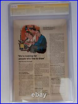 CAPTAIN AMERICA #110 (CGC 9.0) 1969 3x SIGNED JIM STERANKO, JOE SIMON, & SINNOTT