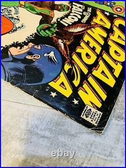 CAPTAIN AMERICA # 117 1st Appearance THE FALCON STAN LEE Marvel Comics 1969