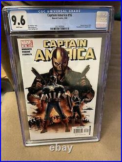 CAPTAIN AMERICA 16 CGC 9.6 1ST APPEAR Of SIN RED SKULL DAUGHTER KEY Marvel Comic