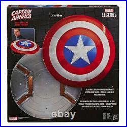 CAPTAIN AMERICA 24 Marvel Legends Classic Comic Shield Prop Replica (Hasbro)