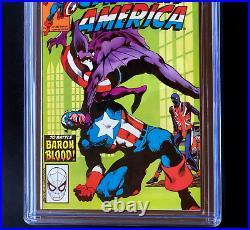 CAPTAIN AMERICA #254 CGC 9.8 WP Death of Baron Blood! Union Jack App 1981