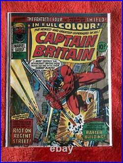 CAPTAIN BRITAIN #8 Marvel Comics 1st Appearance of Psylocke Betsy Braddock