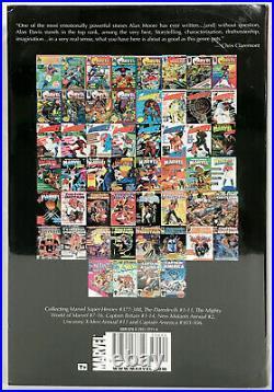 CAPTAIN BRITAIN Omnibus Rare Variant Cover Marvel Comics OOP HC FACTORY SEALED