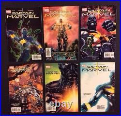 CAPTAIN MARVEL 16 17 1 -25 COMPLETE MARVEL Comic Books 1st app Phyla-Vell David