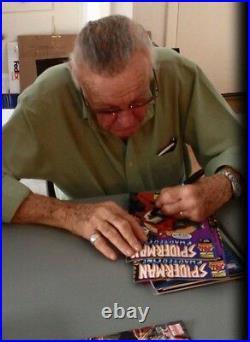 CAPTAIN MARVEL #1 Signed Comic Stan Lee withCOA Avengers/Infinity War/Marvel MS