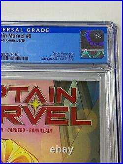 CAPTAIN MARVEL #8 CGC 9.8 Marvel Comics 9/19 1st appearance of Star