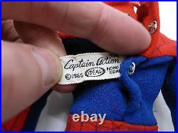 Captain Action Spiderman Uniform Ideal Toy vintage 1966 marvel comics figure 12
