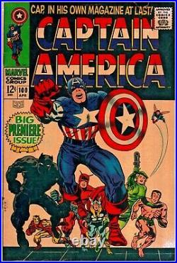 Captain America #100 Silver Age Marvel 3.0