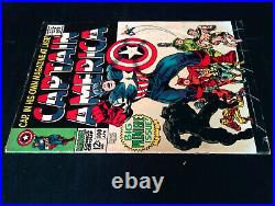 Captain America #100 Silver Age Marvel Comics VG+