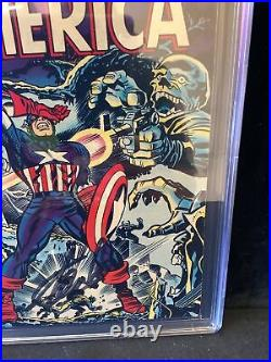 Captain America #107 CGC SS Graded 6.5 Stan Lee Signed