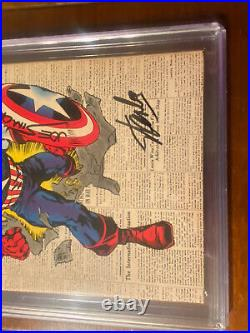 Captain America #109 1/69 Cgc 9.2 Ss Stan Lee & Simon! White Pages! Super Nice