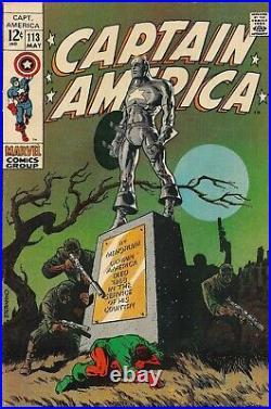 Captain America #113 F+ 6.5