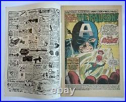Captain America #117 1st App & Origin of The Falcon Marvel Comics