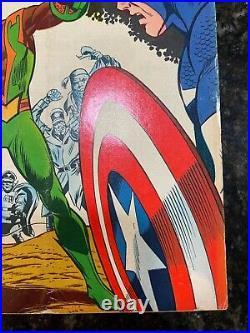 Captain America #117 FN/FN+/VF (Marvel Comics Sept 1969) 1st Falcon Sam Wilson