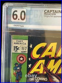 Captain America #117 Graded 6.0 First App & Origin Of The Falcon