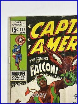 Captain America #117 (Marvel comics 1969) 1st Falcon