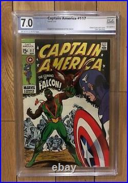 Captain America #117 PGX 7.0 1st Appearance of the Falcon