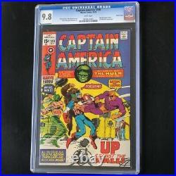 Captain America #130 (1970) CGC 9.8 PACIFIC COAST PEDIGREE! Highest Graded