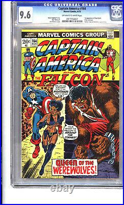 Captain America #164 9.6 O/W-W. 1st appearance of Nightshade