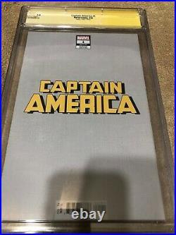 Captain America 1 CGC 9.8 SS Adam Hughes Virgin Ed 1500 Variant