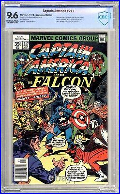 Captain America 217 CBCS 9.6 NM+ 1st Appearance Quasar Marvel Comics 1979