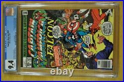 Captain America #217 Cgc 9.4 Nm White Pgs 1st Marvel Boy Quasar Avengers 1978