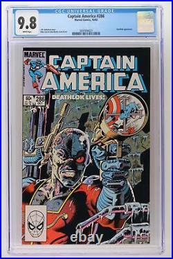 Captain America #286 Marvel 1983 CGC 9.8 Deathlok Appearance