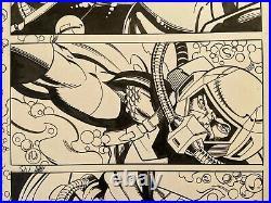 Captain America #46 p5 (2001) Jurgens/Layton Cap Undersea Battle Iron Man Guest