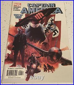 Captain America #6 1st Winter Soldier Captain America #118 2nd Falcon CGC IT