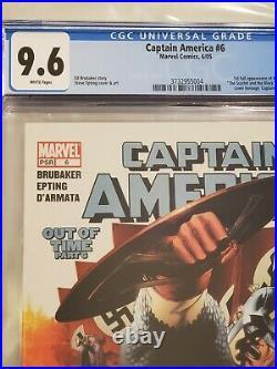 Captain America #6 CGC 9.6 1st full Winter Soldier 2005