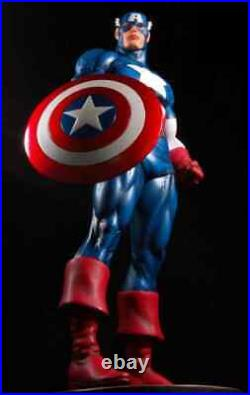 Captain America Classic Statue New Bowen Designs Marvel Comics Factory Sealed