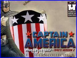 Captain America Comic Book 1940s Life Size Heater Shield Replica Rare Limited Ed