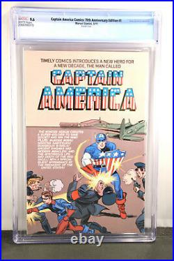 Captain America Comics 70th Anniversary Edition 1 CGC 9.6 Hitler Nazi Swastika