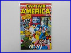 Captain America Comics Nr. 1 Gold Stamp Edition Reprint. Marvel. Z. 0-1