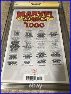 Captain America Marvel Comics 1000 CGC 9.8 4XSS Brooks WW II Vintage Variant